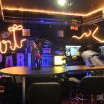 Les studios de la radio en avant-première !
